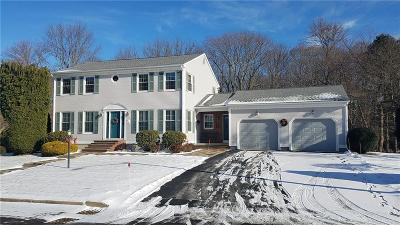 Cranston Single Family Home For Sale: 50 Cranberry Ter