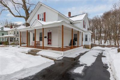 Burrillville Single Family Home Act Und Contract: 94 Church St St