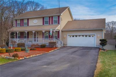 Cranston Single Family Home For Sale: 211 Mohawk Trl