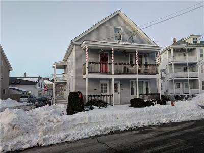 Woonsocket Multi Family Home For Sale: 284 Mowry St