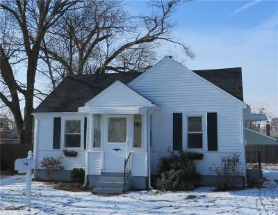 Warwick RI Single Family Home Sold: $159,900