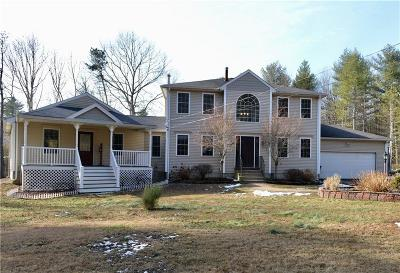 Coventry Single Family Home For Sale: 771 Gibson Hill Rd