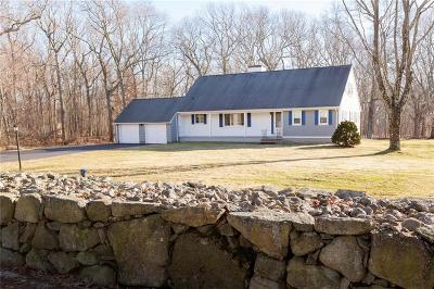 Scituate Single Family Home For Sale: 163 Betty Pond Rd