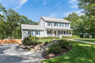 Scituate Single Family Home For Sale: 277 Howard Av