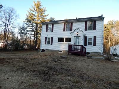 Burrillville Single Family Home For Sale: 1033 Round Top Rd