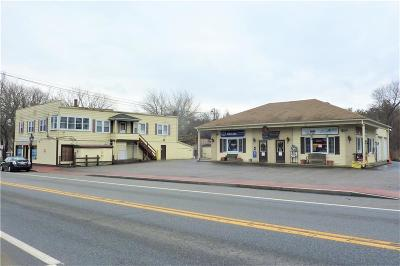 Glocester Commercial For Sale: 1186 - 1188 Putnam Pike