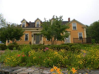 Scituate Single Family Home Act Und Contract: 857 Danielson Pike
