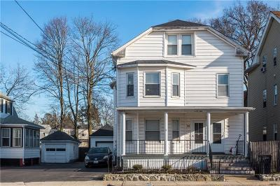 Cranston Multi Family Home Act Und Contract: 128 - 130 Warwick Av