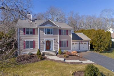 North Kingstown Single Family Home For Sale: 406 Wickham Rd
