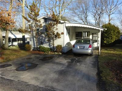 Coventry Single Family Home For Sale: 8 Five Elms Cir
