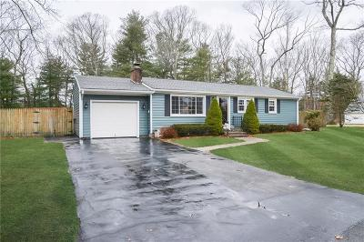 North Kingstown Single Family Home Act Und Contract: 85 Knollwood Cir