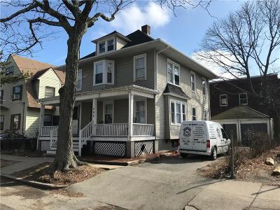 Providence Single Family Home For Sale: 292 Massachusetts Av