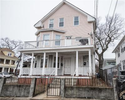 Providence RI Multi Family Home For Sale: $220,000