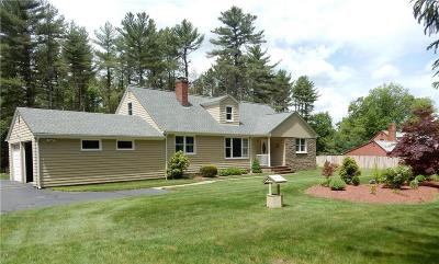 Scituate Single Family Home Act Und Contract: 712 East Rd