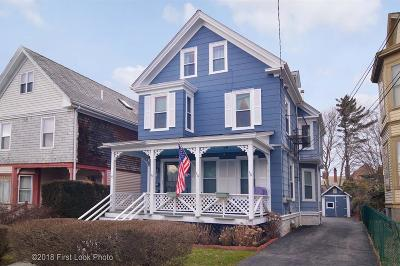 Newport Multi Family Home Act Und Contract: 18 Channing St