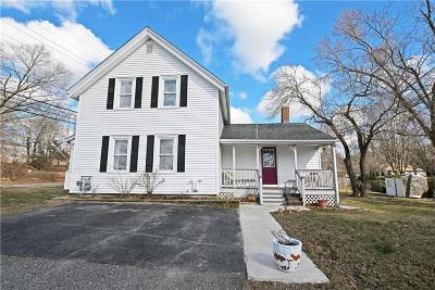 East Providence Single Family Home Act Und Contract: 75 Forbes St