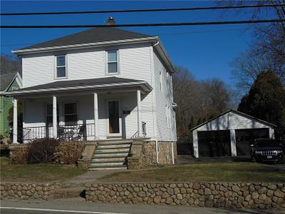 Westerly Single Family Home For Sale: 183 High St