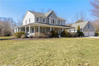 South Kingstown Single Family Home For Sale: 885 Tuckertown Rd
