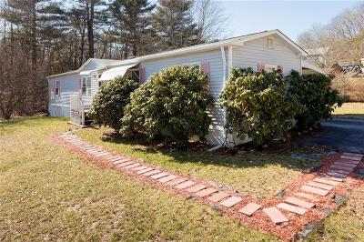 Coventry Single Family Home For Sale: 100 Sherwood Valley Lane