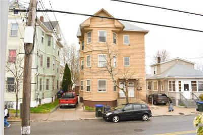 Providence RI Multi Family Home For Sale: $299,900