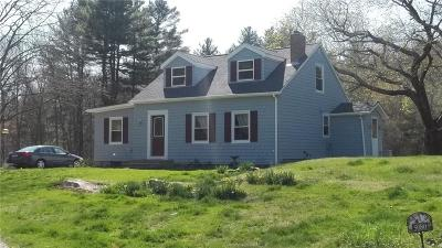 Coventry Single Family Home Act Und Contract: 5080 Flat River Rd