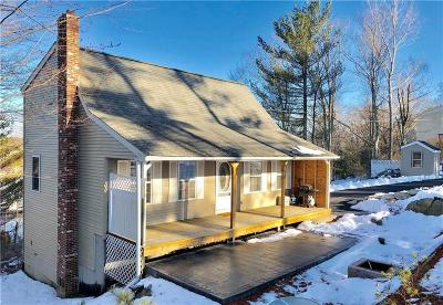 Burrillville Single Family Home Act Und Contract: 170 Camp Dixie Rd