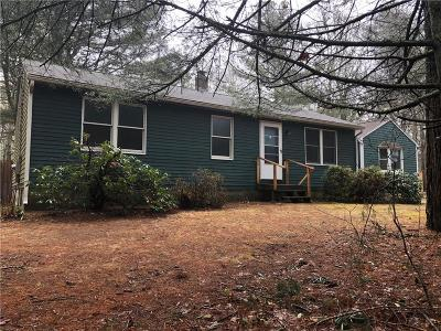 South Kingstown Single Family Home For Sale: 779 Shannock Rd