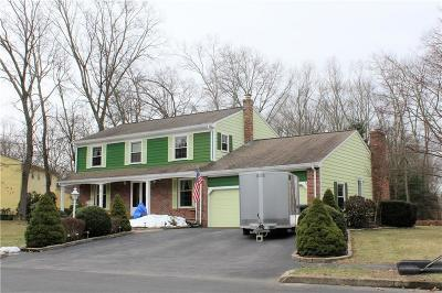 Coventry Single Family Home For Sale: 8 Winterberry Dr