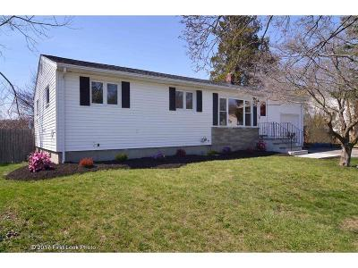 Cranston Single Family Home Act Und Contract: 123 Stony Acre Dr