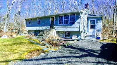 Burrillville Single Family Home Act Und Contract: 366 Snake Hill Rd