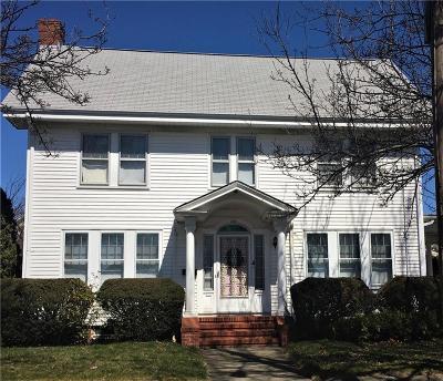 East Providence Single Family Home For Sale: 100 Grosvenor Av