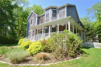 Jamestown Single Family Home For Sale: 991 North Main Rd