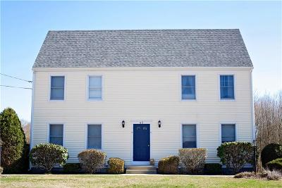 Westerly Condo/Townhouse Act Und Contract: 43 Springbrook Rd, Unit#a #A