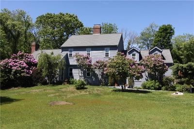 Jamestown Single Family Home For Sale: 777 East Shore Rd