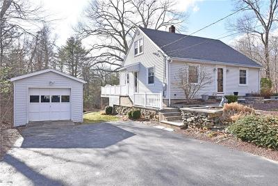 North Smithfield Single Family Home For Sale: 1115 Woonsocket Hill Rd