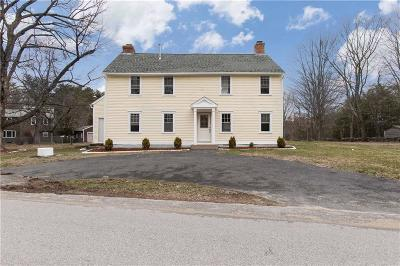 Burrillville Single Family Home For Sale: 1345 Tarkiln Rd