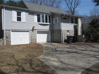 Coventry Single Family Home For Sale: 1815 Flat River Rd
