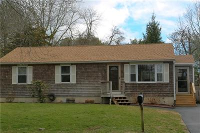 Charlestown RI Single Family Home Sold: $317,500