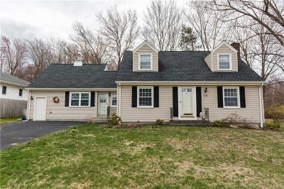 Cranston Single Family Home For Sale: 56 Sweet Fern Dr