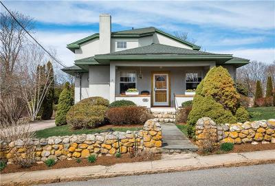 Westerly Single Family Home For Sale: 16 Plimpton Rd