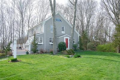 Bristol County Single Family Home Act Und Contract: 3 Oyster Lane