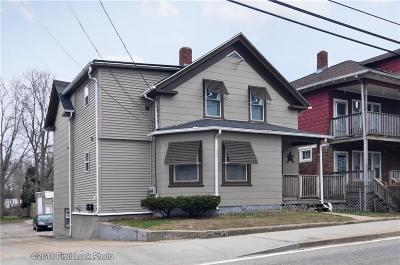 Woonsocket Multi Family Home For Sale: 537 Diamond Hill Rd