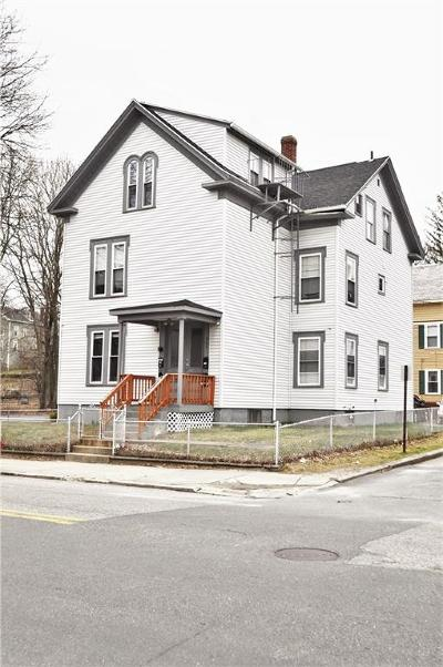 Woonsocket Multi Family Home For Sale: 404 North Main St