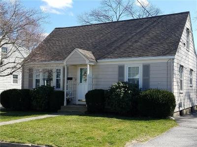 Cranston Single Family Home Act Und Contract: 15 Saxonia Rd