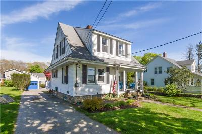 Westerly Single Family Home For Sale: 124 Beach St