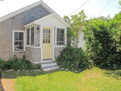 Block Island Single Family Home For Sale: 549 Center Rd