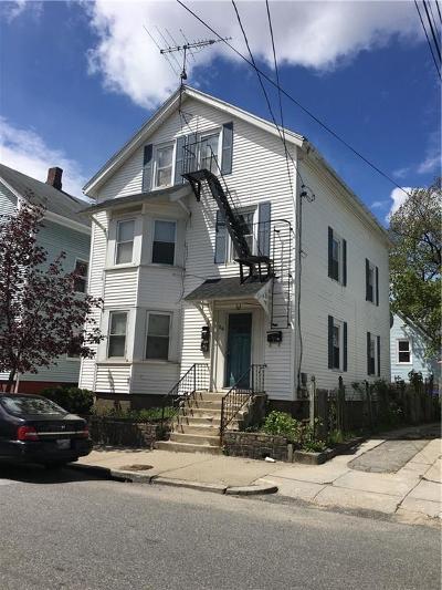 Providence RI Multi Family Home For Sale: $165,000