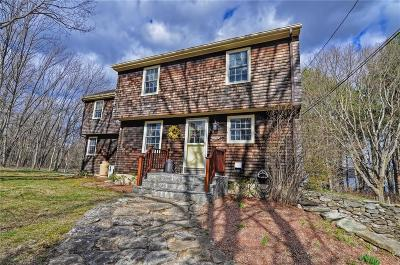 Scituate Single Family Home For Sale: 391 W Greenville Rd