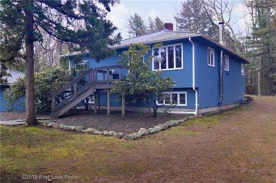 Scituate Single Family Home Act Und Contract: 11 Walker Wy