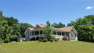 North Smithfield Single Family Home For Sale: 131 Pond House Rd